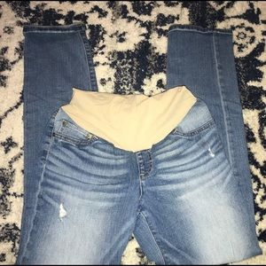 Indigo Blue flared jeans